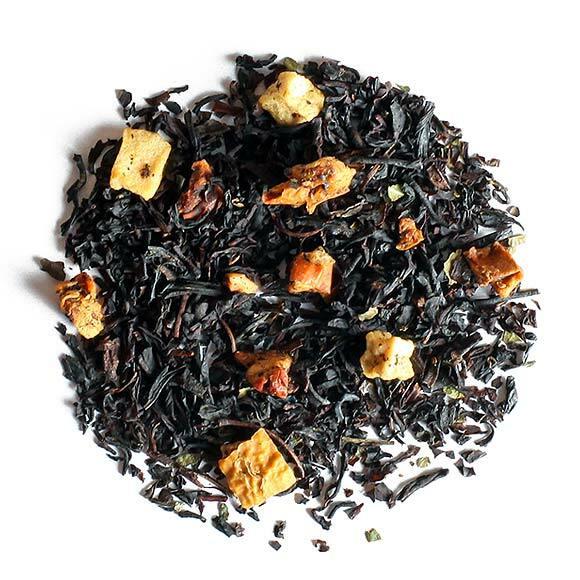 Chalet sous la neige, thé parfum - les thés OCHAYA