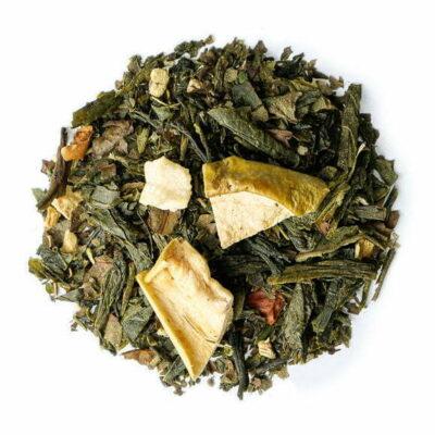 Green Soho, thé vert parfumé - les thés OCHAYA