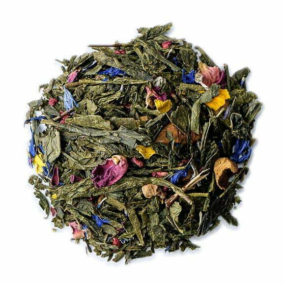 Ikebana - thé vert parfumé - thés OCHAYA