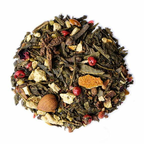 Thé vert de Noël - les thés OCHAYA