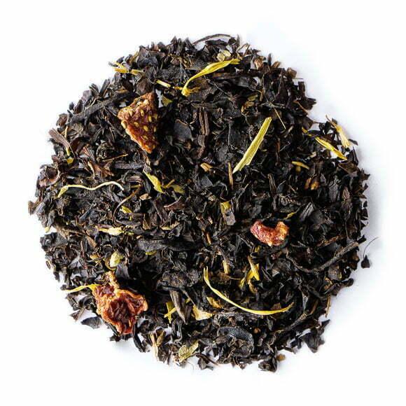 Après-midi d'été, thé noir parfumé - les Thés OCHAYA