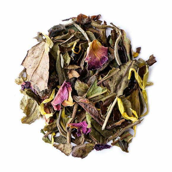 Momotaro, thé blanc parfumé - les Thés OCHAYA