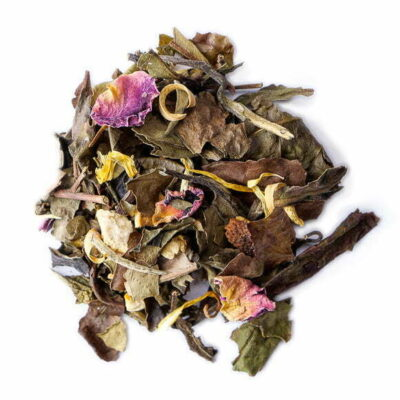 Sarong, thé blanc parfumé - les Thés OCHAYA
