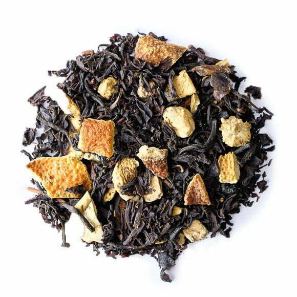 Syracuse, thé noir parfumé - les thés OCHAYA