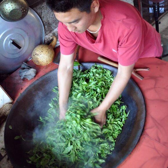 sechage au wok
