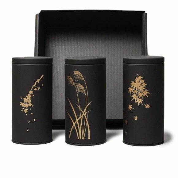 Coffret de 3 boîtes japonaises